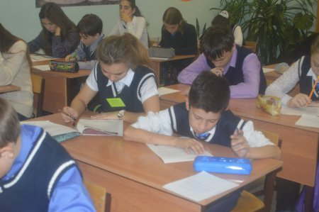 Всероссийская олимпиада школьников  (школьный тур)
